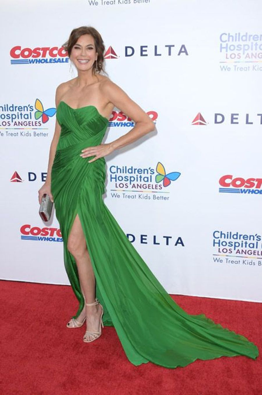 "L'actrice de la série ""Desperate Housewives"", Teri Hatcher, au gala The Children's Hospital Los Angeles, le 11 octobre 2014"