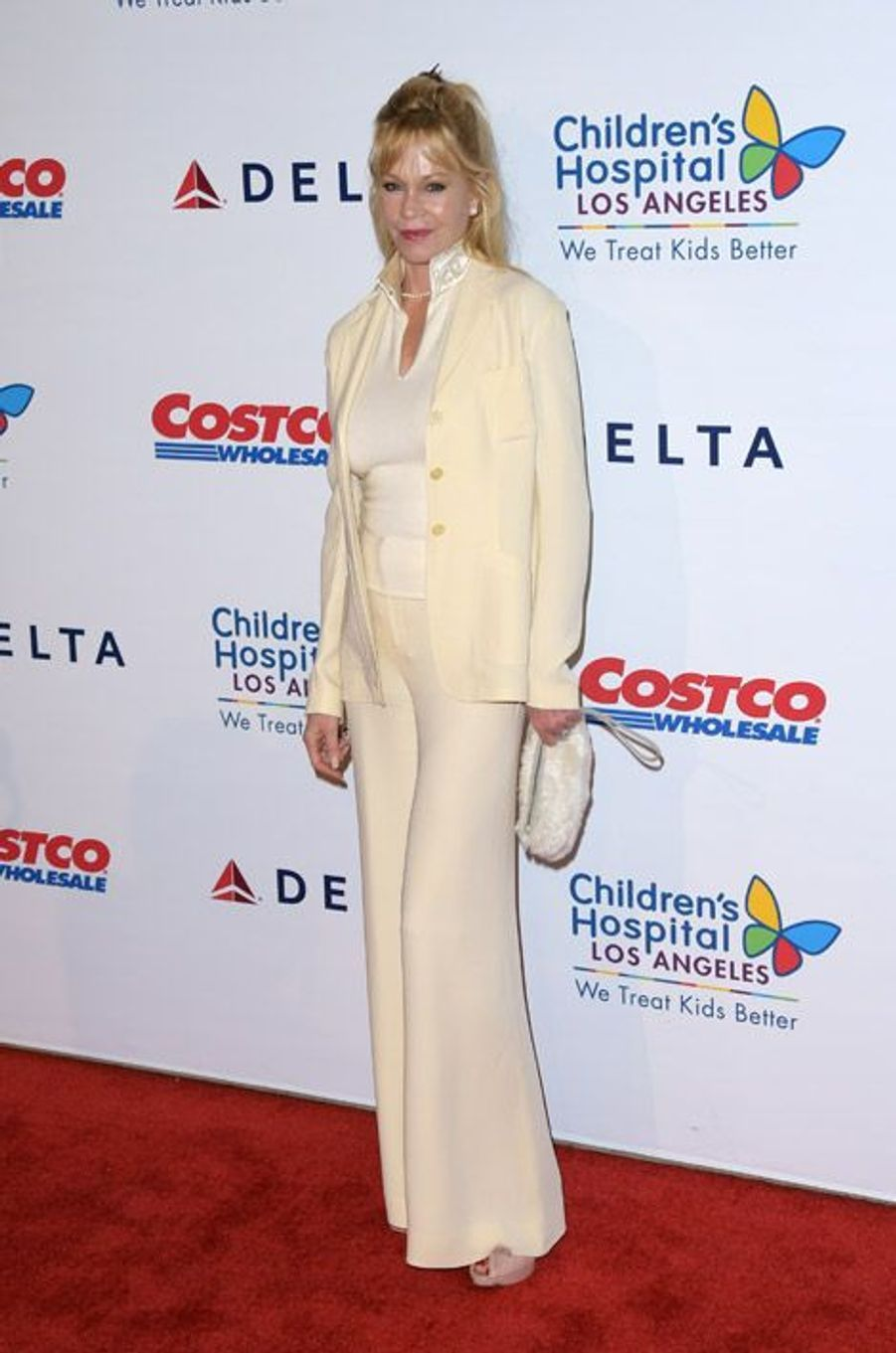 L'actrice Melanie Griffith au gala The Children's Hospital Los Angeles, le 11 octobre 2014