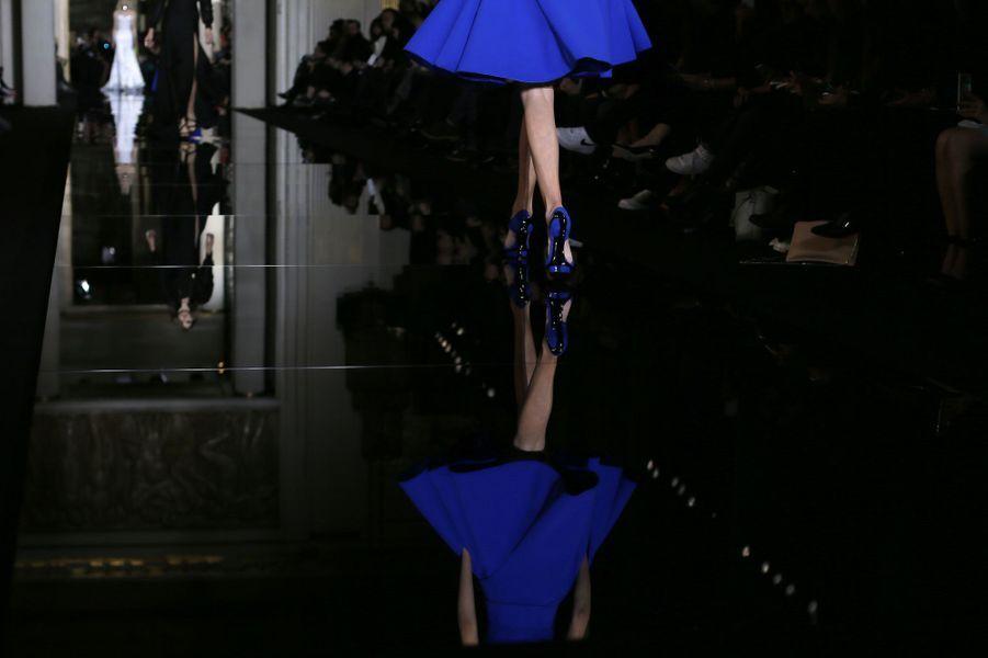 Versace présente sa collection Haute Couture