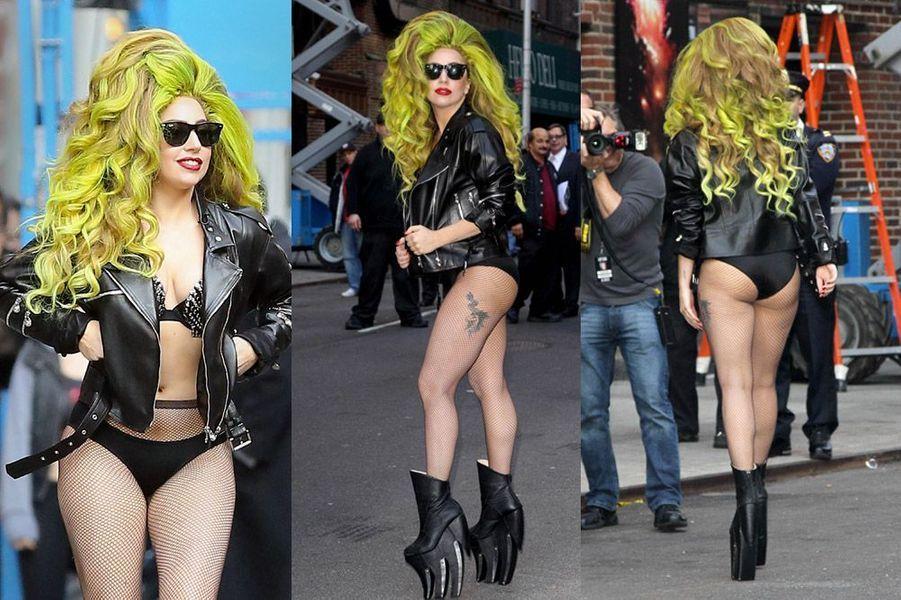 L'excentrique chanteuse Lady Gaga
