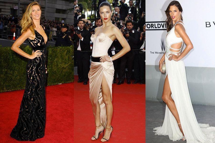 Gisele Bündchen, Adriana Lima, Alessandra Ambrosio : les plus beaux tops brésiliens