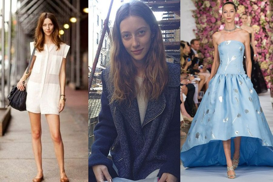 Raquel Zimmermann, 31 ans : elle a défilé pour Hermès, Prada, Gucci, Versace, Chanel, Christian Dior...
