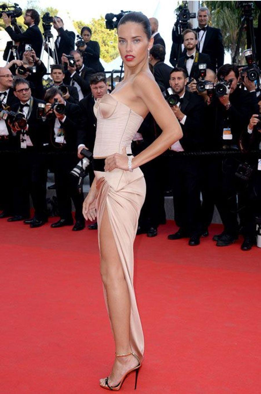 Adriana Lima (8 millions)