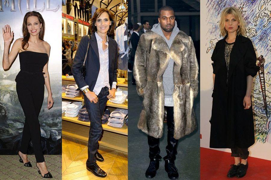 Angelina Jolie, Inès de la Frassange, Kanye West, Clémence Poésy : toutes les collaborations stars de la rentrée 2014