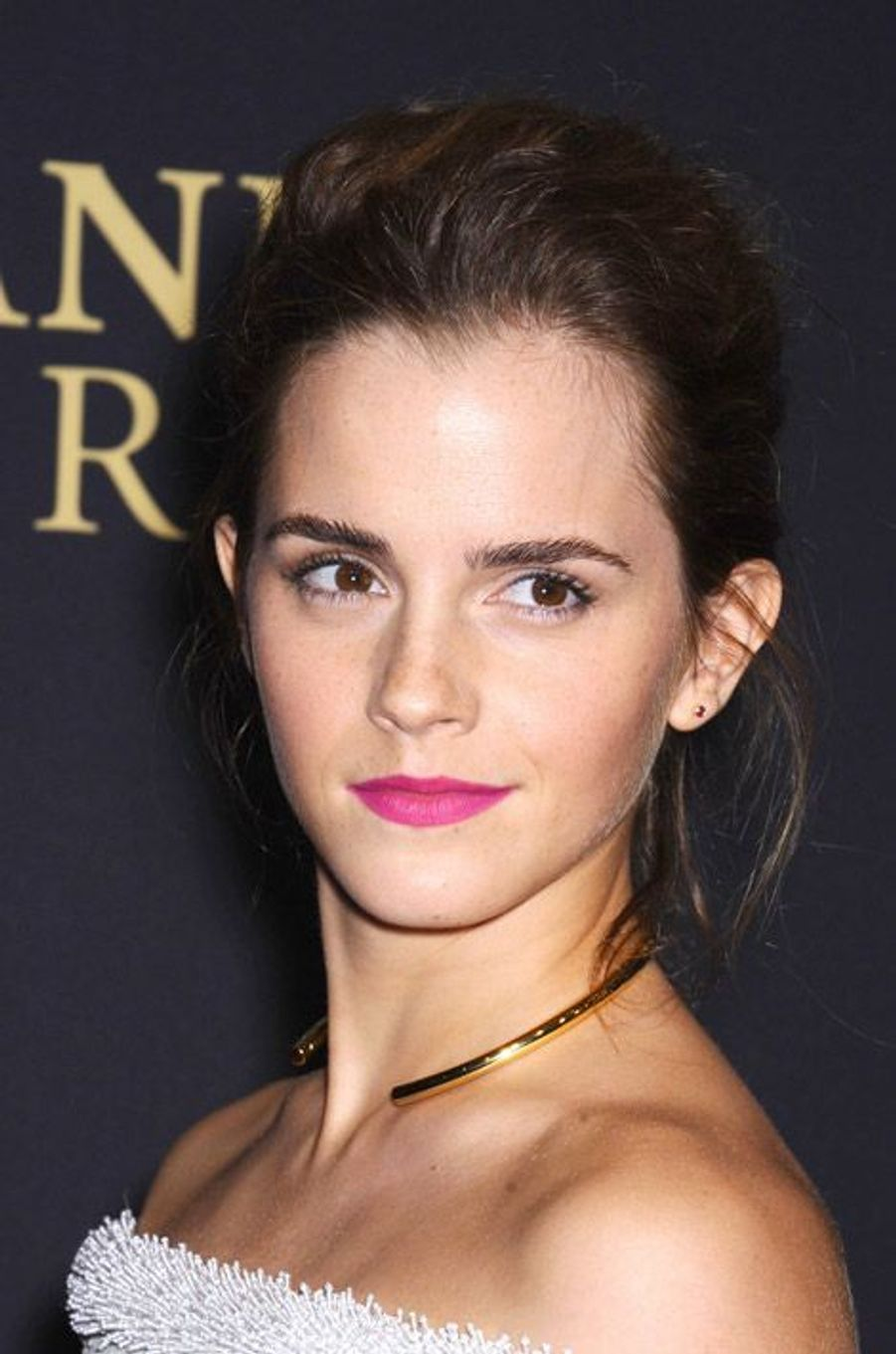 L'actrice britannique Emma Watson lors des BAFTA Los Angeles Jaguar Britannia Awards, le 30 octobre 2014