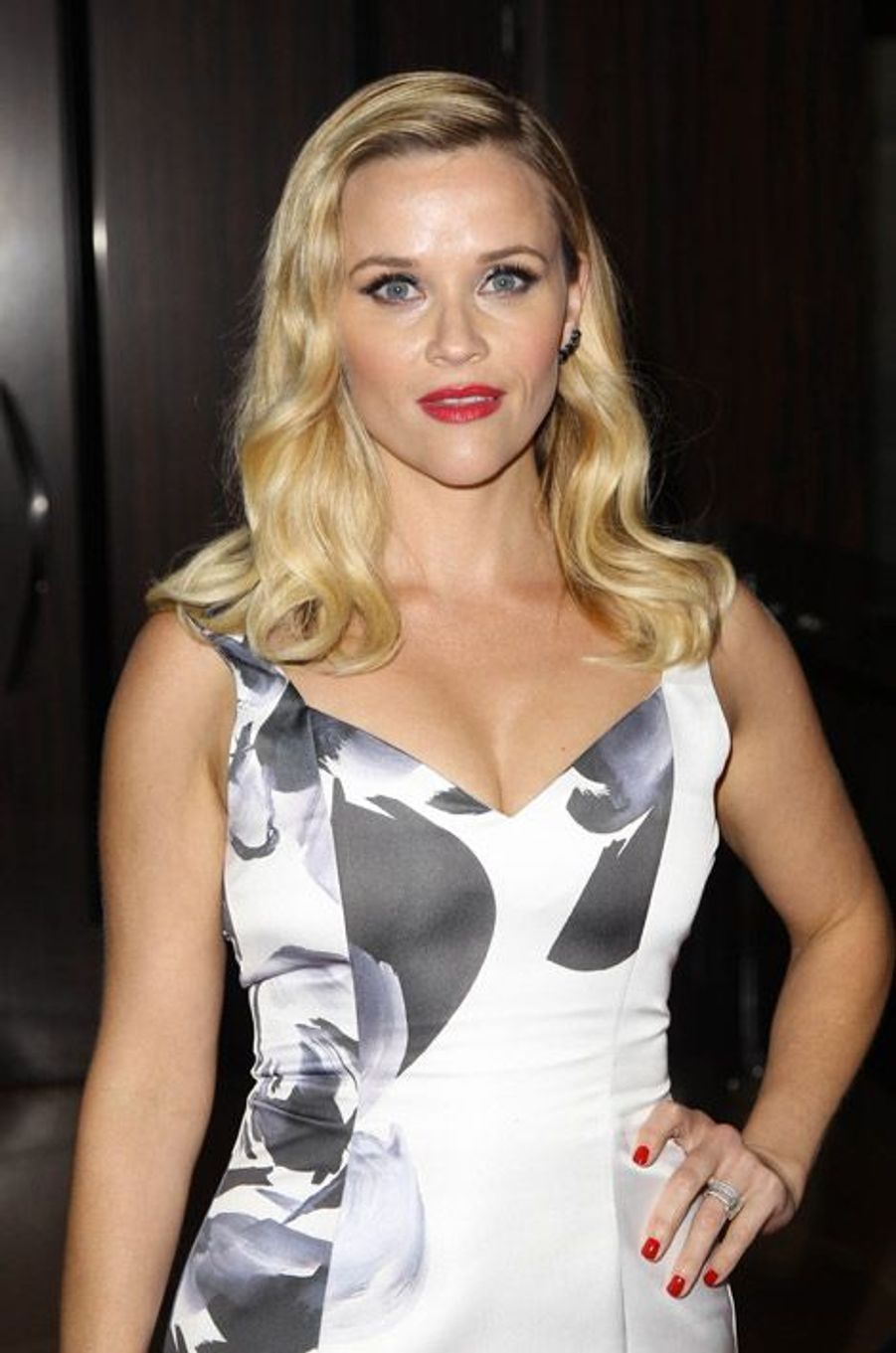 L'actrice Reese Witherspoon au gala American Cinematheque award en l'honneur de Matthew McConaughey, le 21 octobre 2014