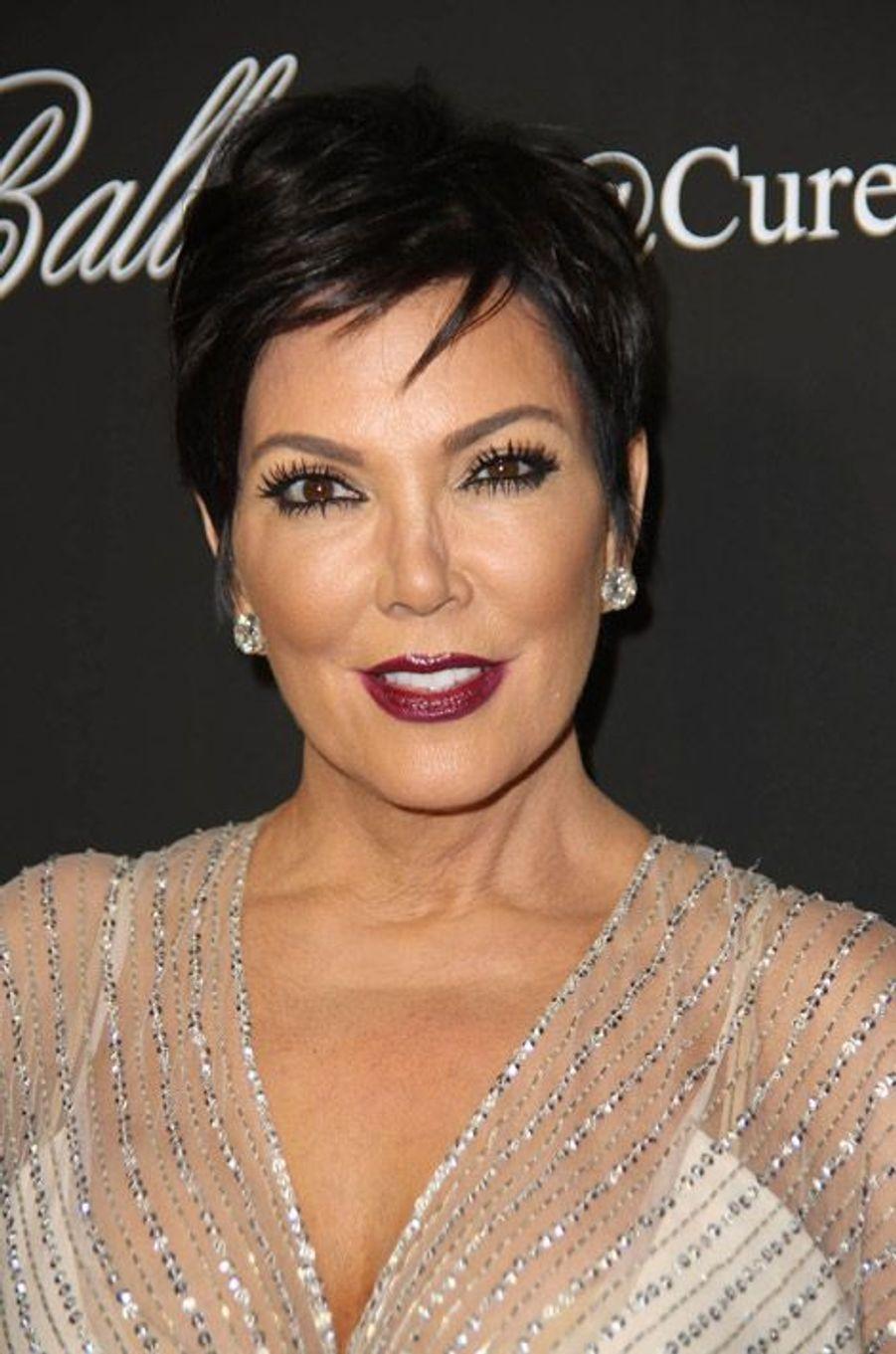 Le manager Kris Jenner au Angel Ball 2014 à New York, le 20 octobre 2014