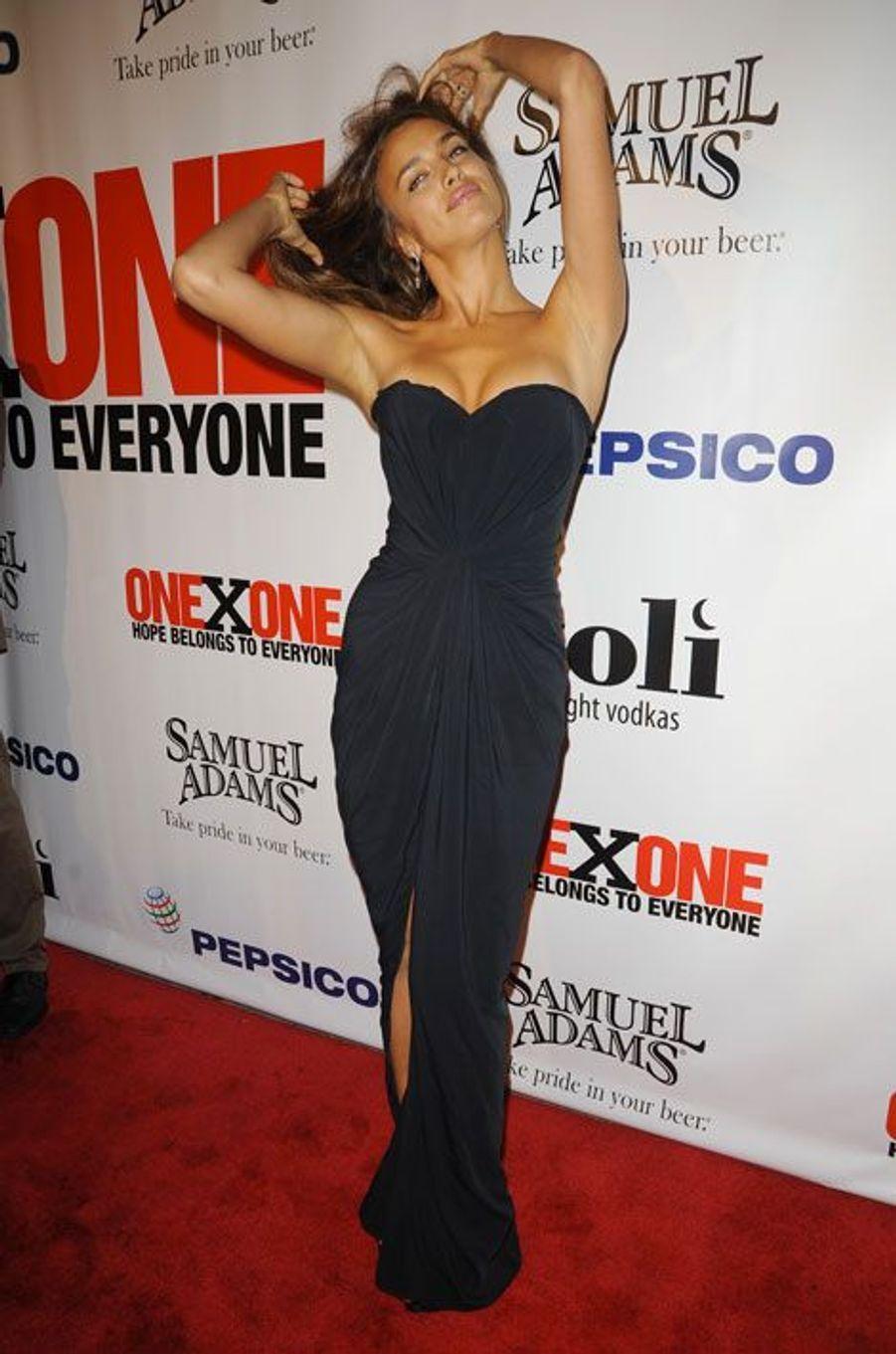 Lors d'une soirée à New York, le 27 octobre 2010