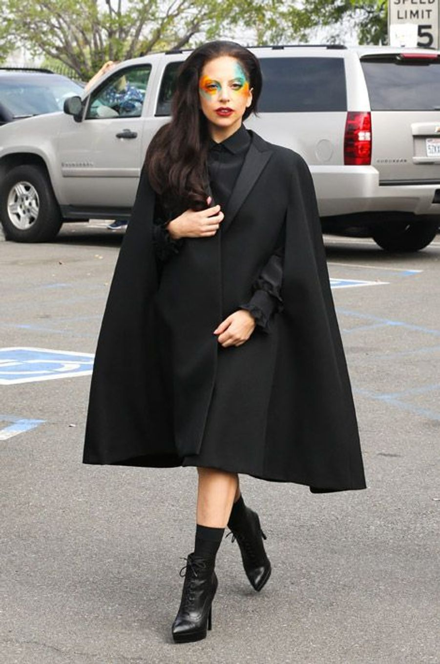 La chanteuse Lady Gagaà Los Angeles, le 13 août 2013