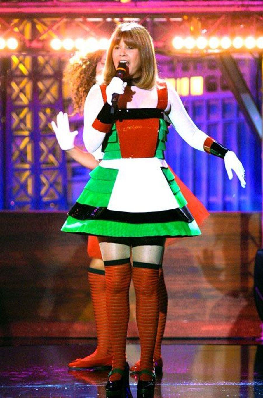 En 2001, JP a créé le costume de Chantal Goya dans le film Absolument Fabuleux