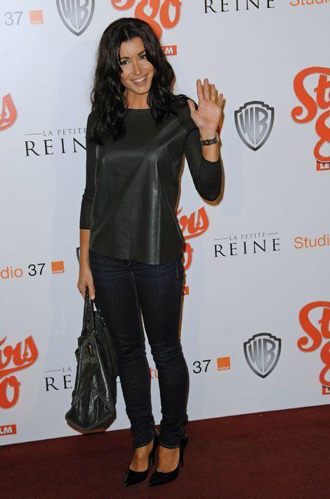 """Jenifer assiste à la première du film """"Stars 80"""", le 19 octobre 2012"""