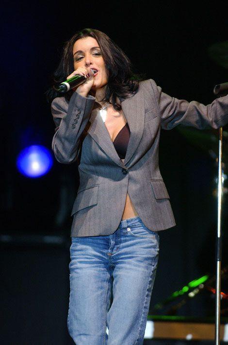 Jennifer en concert en Belgique, le 18 septembre 2004