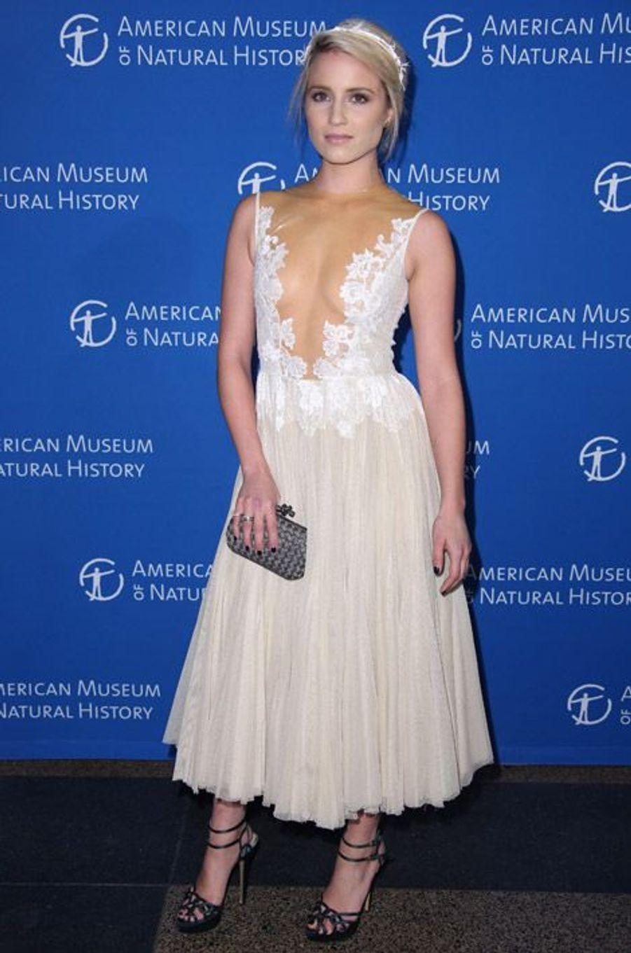 L'actrice Diana Agron au gala du musée d'histoire naturelle de New York, le 20 novembre 2014