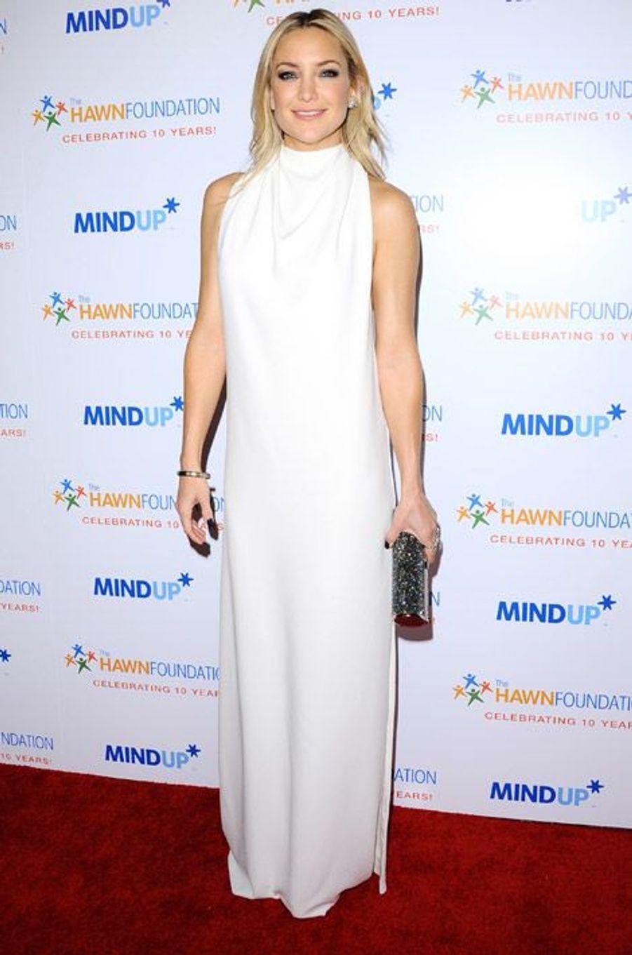 L'actrice Kate Hudson lors d'un gala de charité à Beverly Hills, le 21 novembre 2014