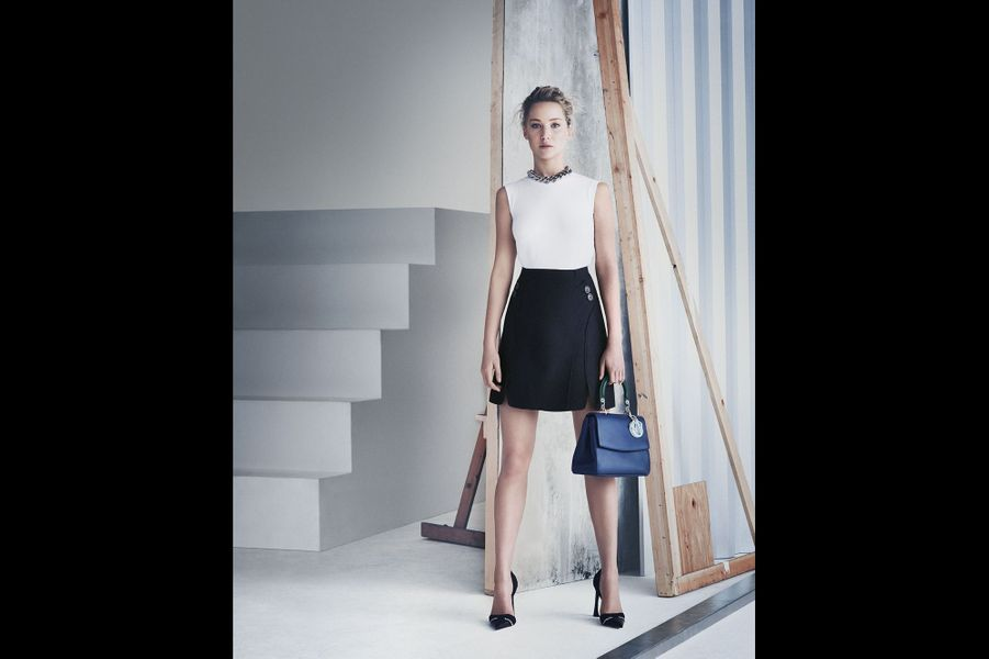 Jennifer Lawrence dans la nouvelle campagne Be Dior