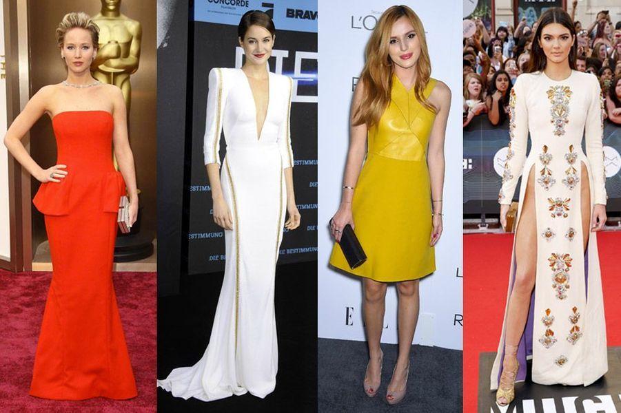 Jennifer Lawrence, Shailene Woodley, Bella Thorne, Kendall Jenner : les nouvelles filles à suivre
