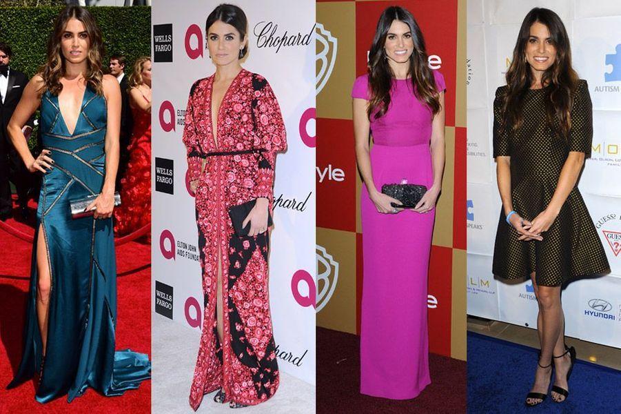 L'actrice et mannequin Nikki Reed, 26 ans, vêtue par Versace, Ted baker et de nouveaux créateurs en vogue