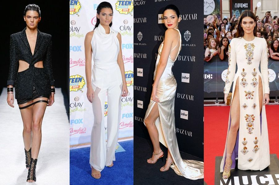Le mannequin Kendall Jenner, 18 ans, défile déjà pour Chanel, Stella McCartney, Dolce & Gabbana, Balmain et Givenchy entre autres
