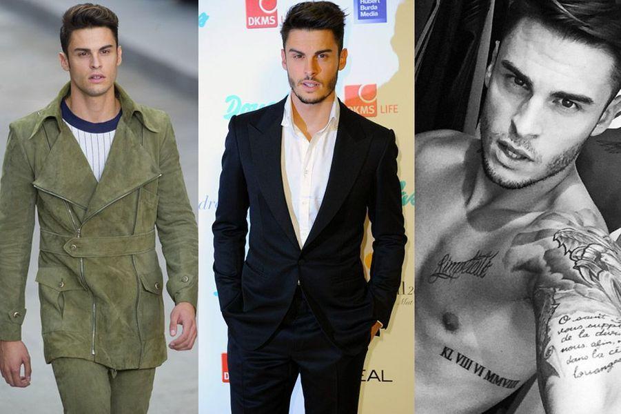 Il estle mannequin fétiche de Karl Lagerfeld pour Chanel mais aussi Fendi.