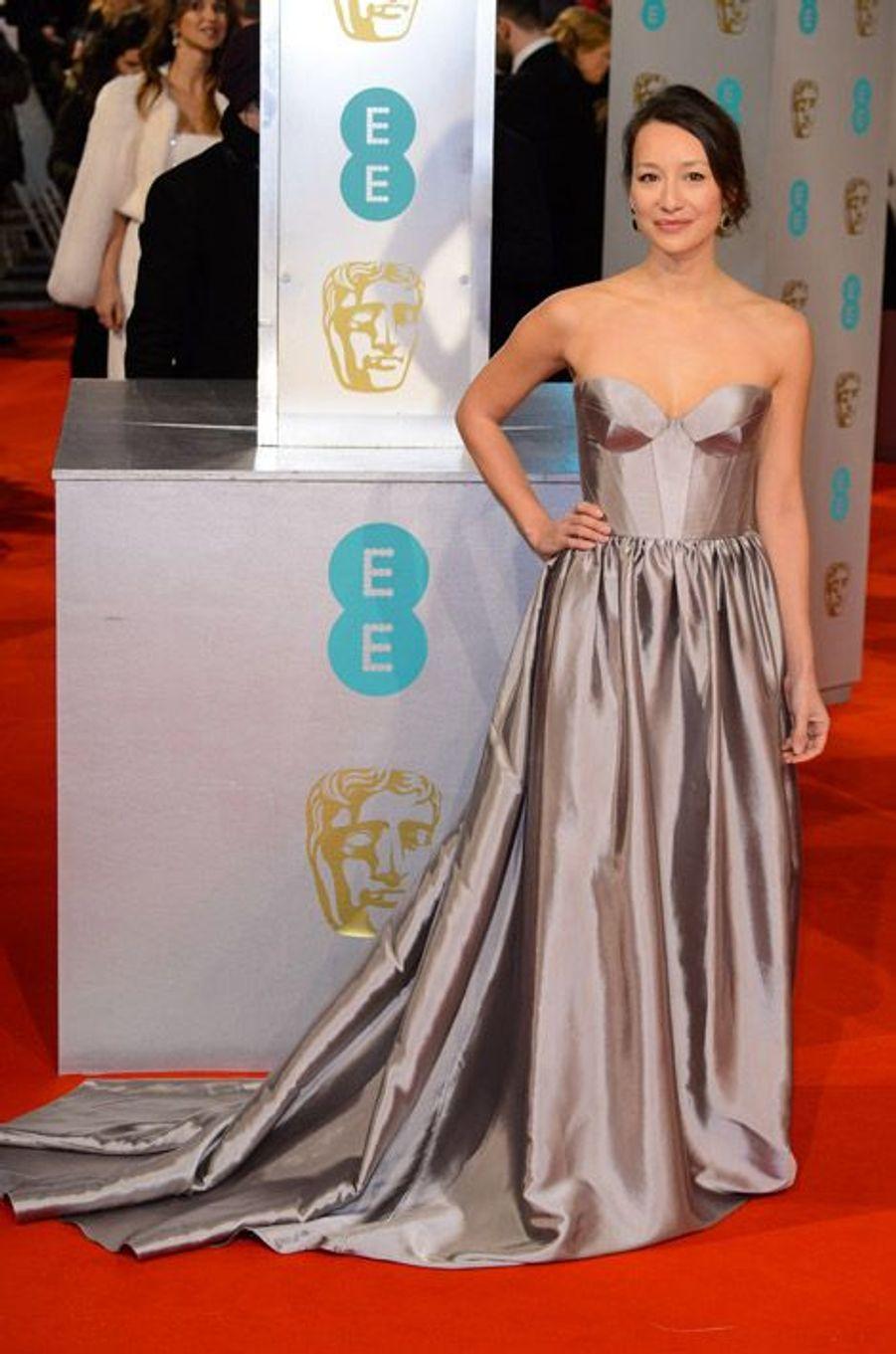 L'actrice Joanna Natasegra lors de la cérémonie des BAFTA le 8 février 2015