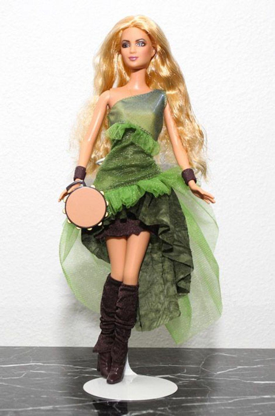 La Barbie à l'image de Shakira en 2003