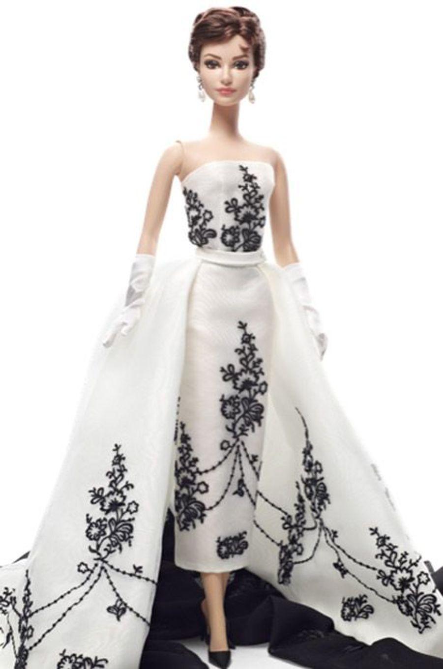 La Barbie Audrey Hepburn d'après le film Sabrina (1954), éditée en 2013