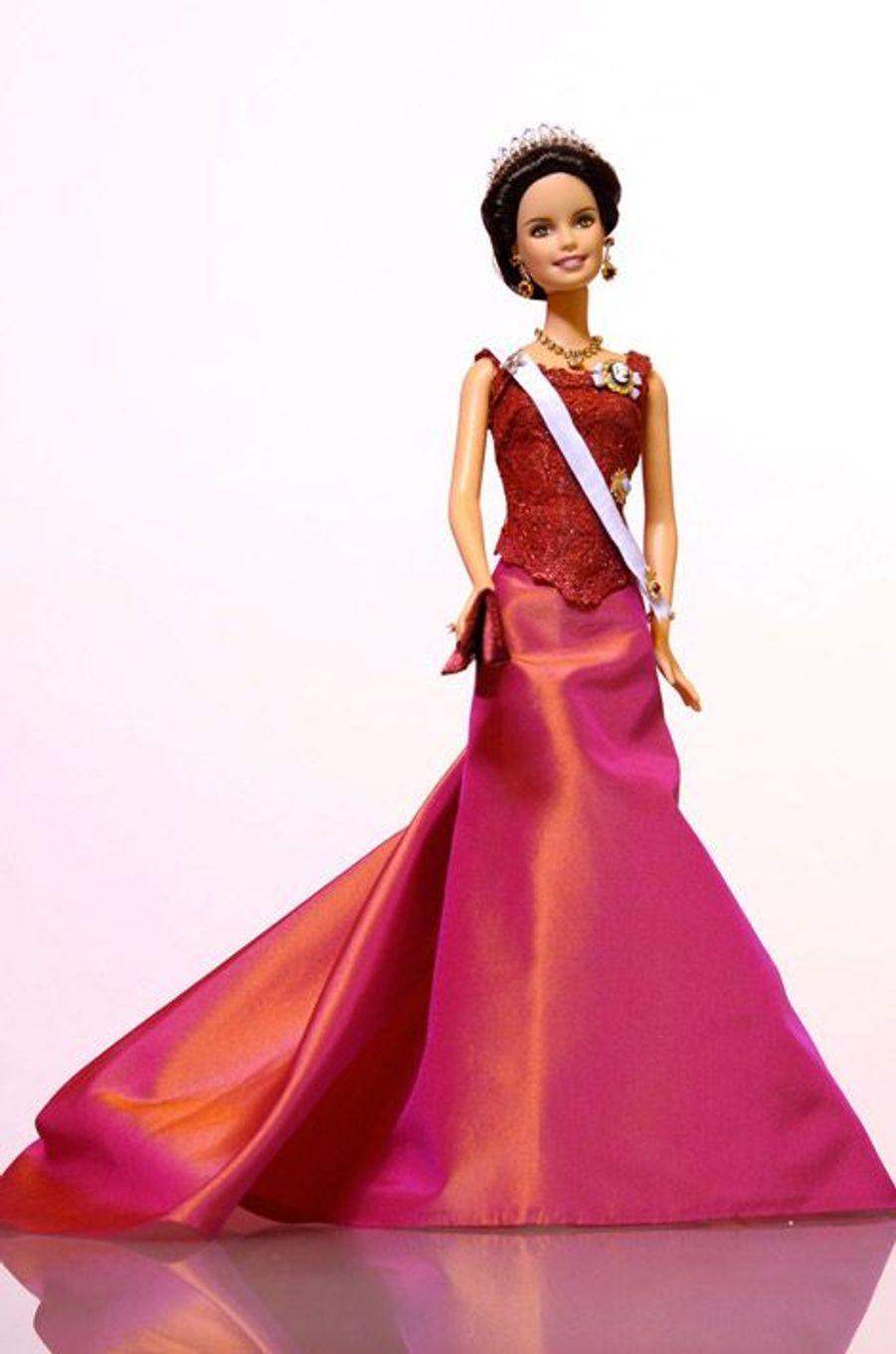 La Barbie inspirée de la princesse Victoria de Suède