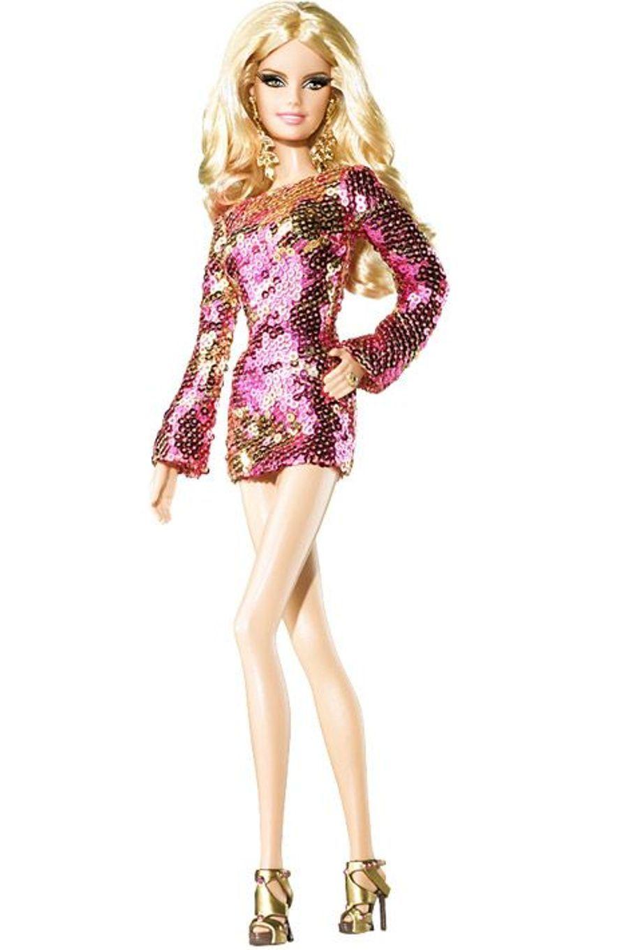 La Barbie inspirée par le top model Heidi Klum