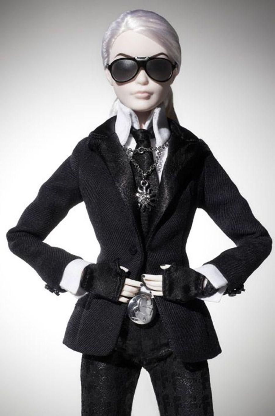 La poupée Barbie Karl Lagerfeld, en vente le 29 septembre prochain