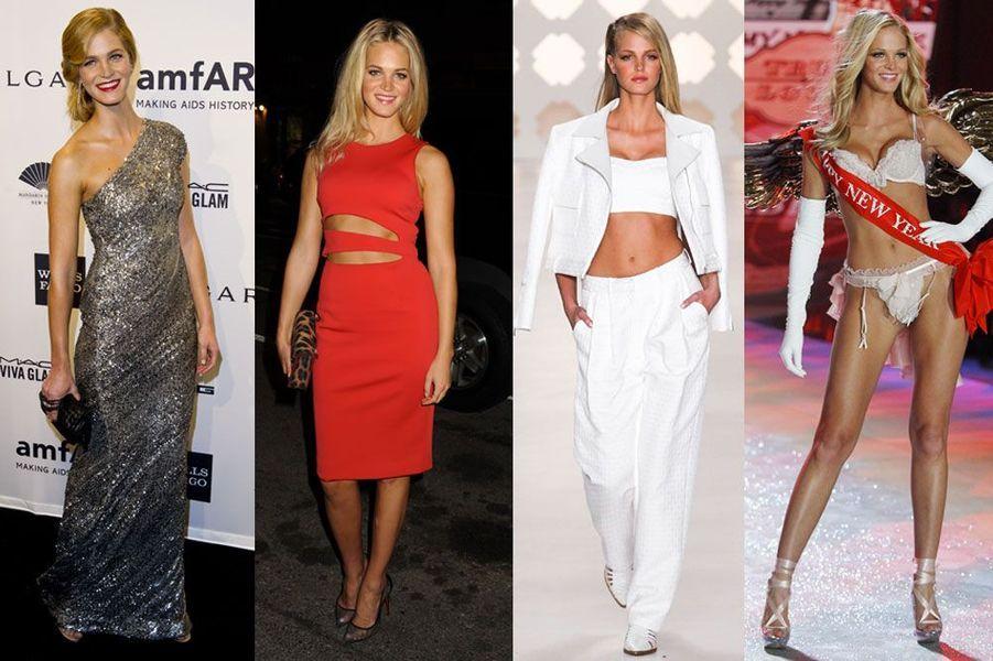 Erin Heatherton, 25 ans: elle a posé pour Michael Kors, Dolce & Gabbana, Diesel et a défilé pour Oscar de la Renta, Lacoste, Victoria's Secret