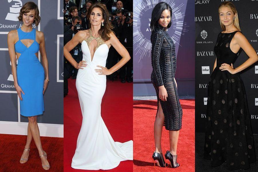 Karlie Kloss, Cindy Crawford, Chanel Iman, Gigi Hadid : votez pour le plus beau top-modèle américain