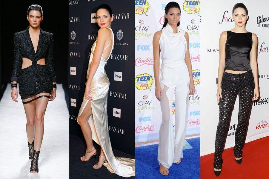 Kendall Jenner, 19 ans: a défilé pour Stella McCartney, Balmain, Dolce & Gabbana, Givenchy