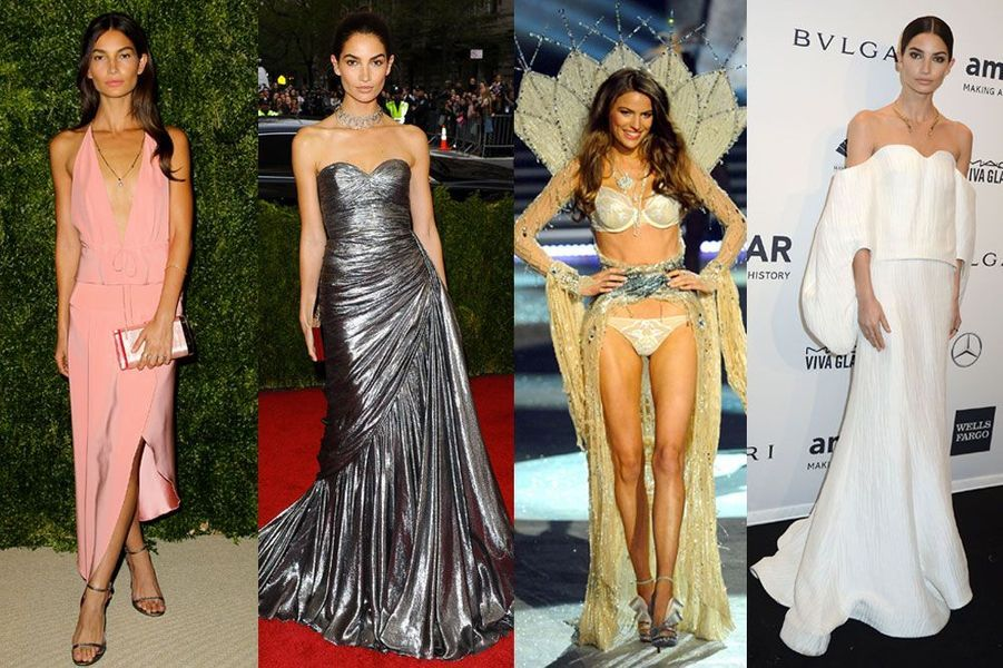 """Lily Aldridge, 28 ans: a défilé pour Victoria's Secret et posé pour """"Elle"""", """"Cosmopolitan"""", """"Glamour"""""""