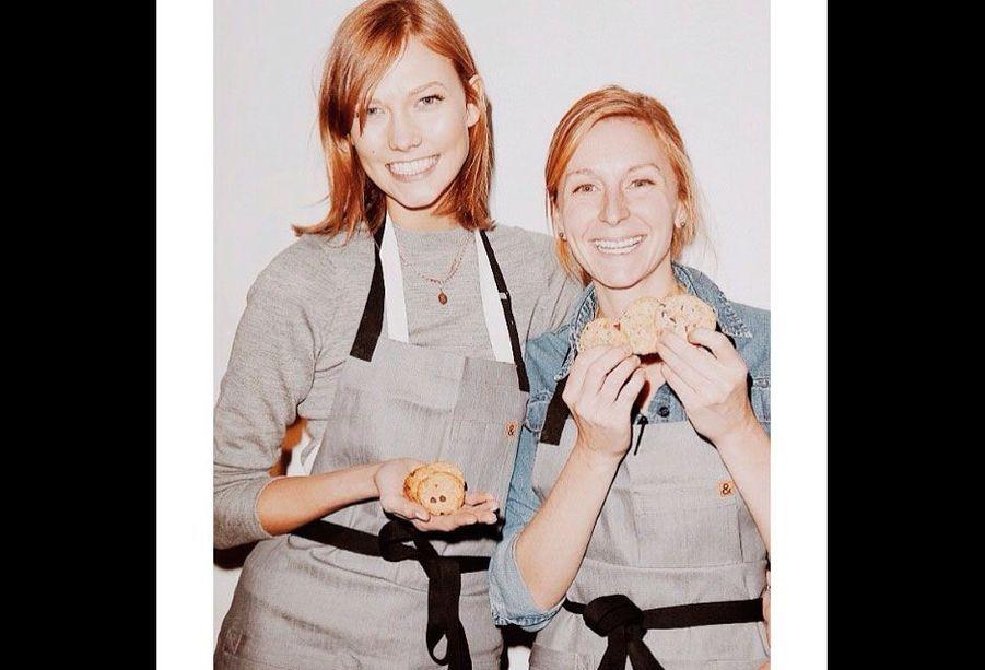 Karlie et Christina lors de la soirée Chefs for Kids'Cancer