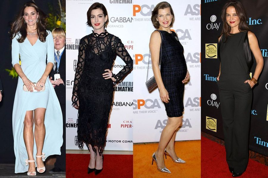 Kate Middleton, Anne Hathaway, Milla Jovovich, Katie Holmes : les stars trentenaires les plus stylées