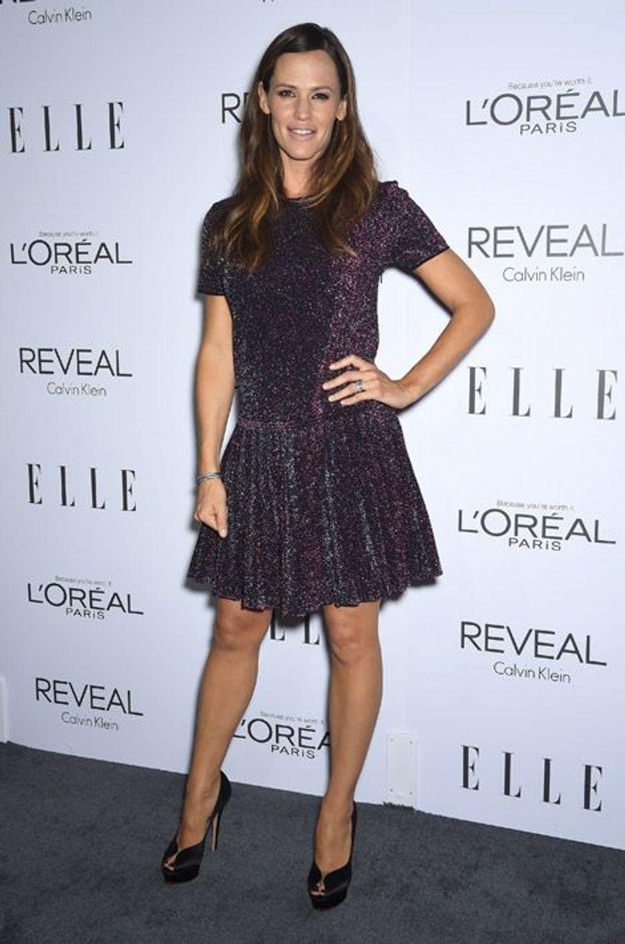 L'actrice Jennifer Garner, 42 ans, en pour une soirée à Beverly Hills, le 20 octobre 2014