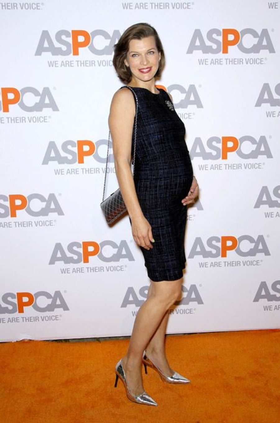 L'actrice Milla Jovovich, 38 ans, en Californie le 22 octobre 2014