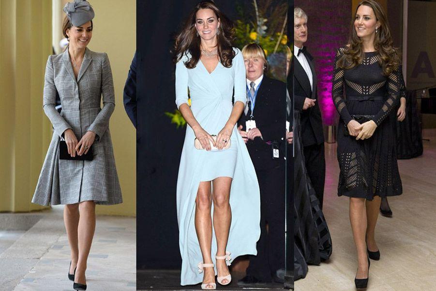 Kate Middleton, 32 ans, attend son deuxième enfant avec le prince William après la naissance du prince George en juillet 2013