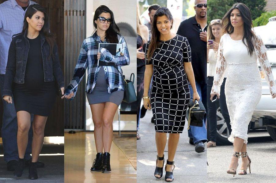 La star de la téléréalité, Kourtney Kardashian, 35 ans est enceinte de son troisième enfant après Mason (4 ans) et Penelope (2 ans)