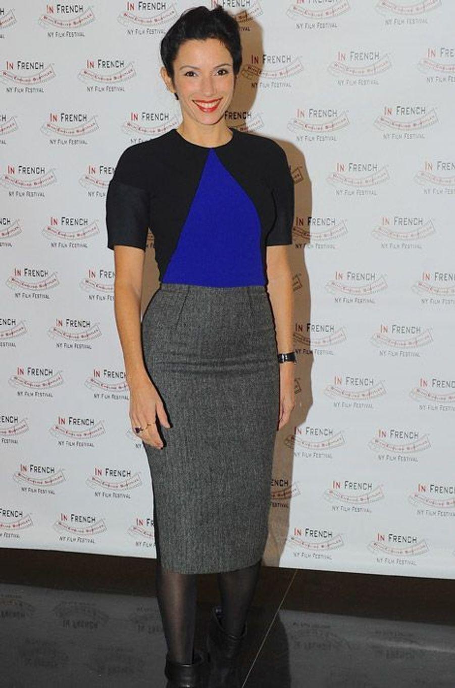 L'actrice française Aure Atika au French Film Festival à New York, le 21 novembre 2014