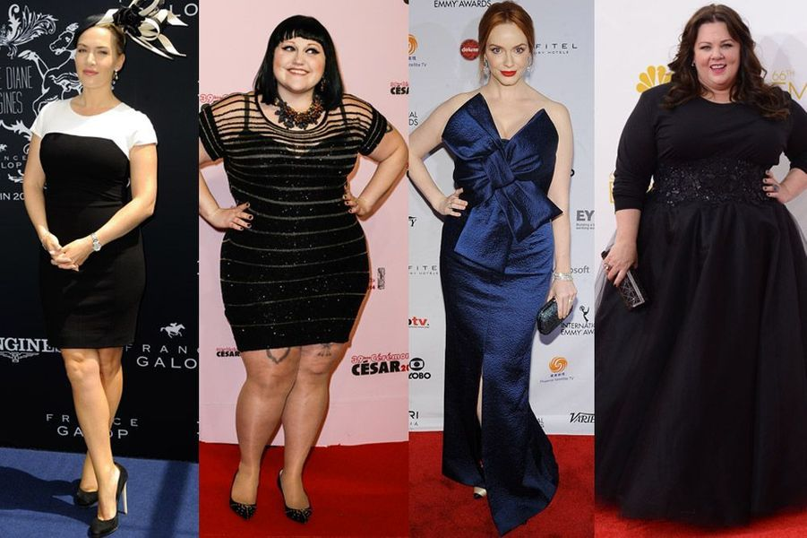 Kate Winslet, Beth Ditto, Christina Hendricks, Melissa McCarthy : ces stars qui assument leurs formes