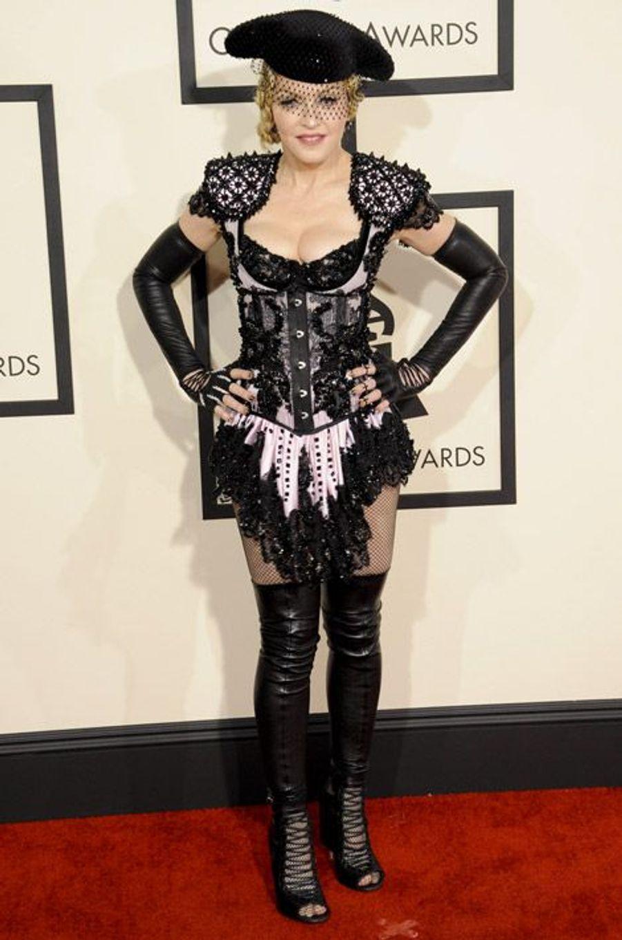 La chanteuse Madonna est une grande adepte des corsets