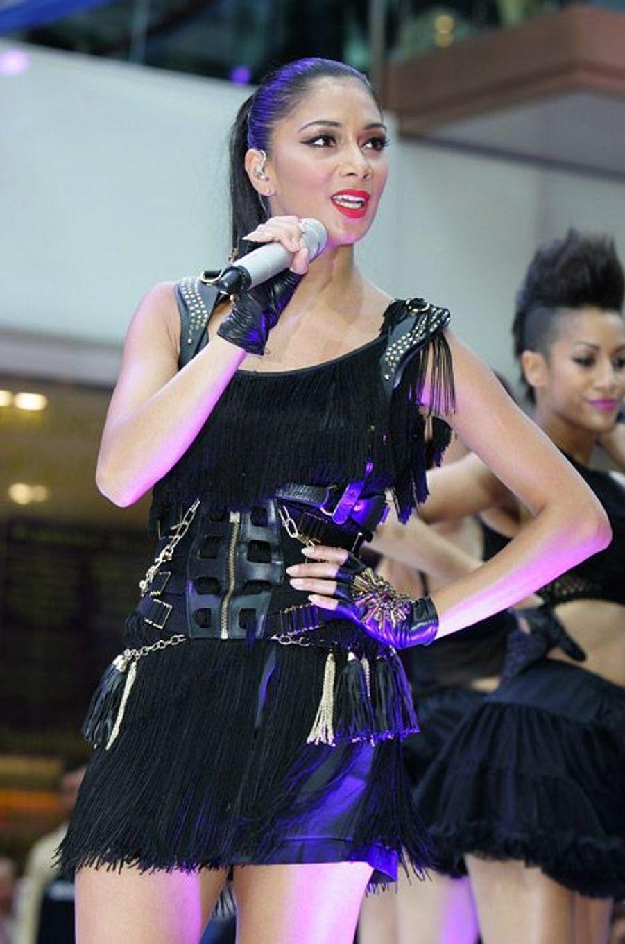 La chanteuse Nicole Scherzinger