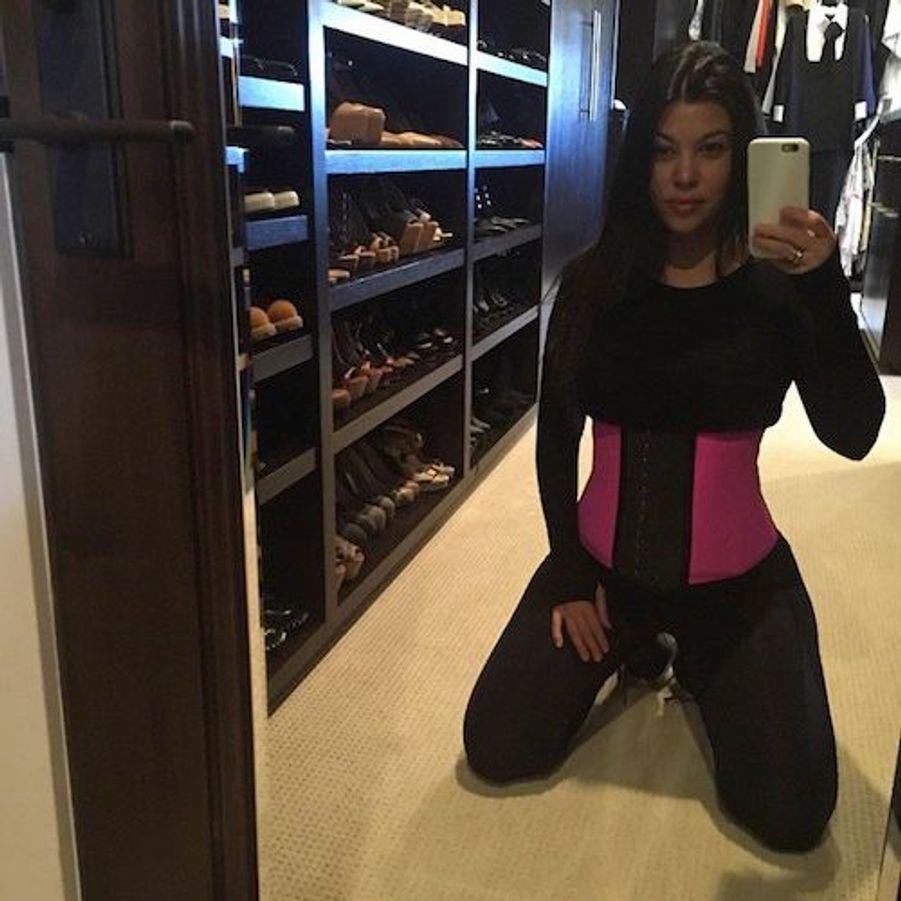 La star de la téléréalité américaine Kourtney Kardashian