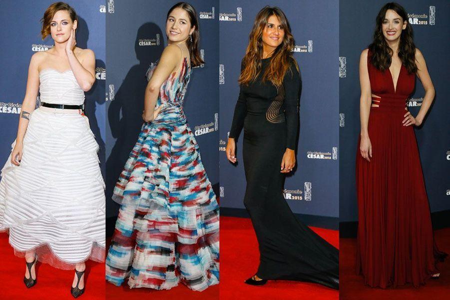 Kristen Stewart, Izia Higelin, Géraldine Nakache, Charlotte Le bon : les plus belles robes des César 2015