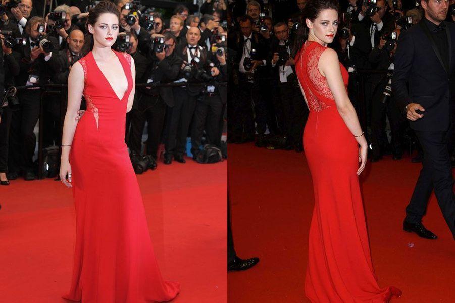 """En Reem Acra pour la projection du film """"Cosmopolis"""" pendant le festival de Cannes, le 25 mai 2012"""
