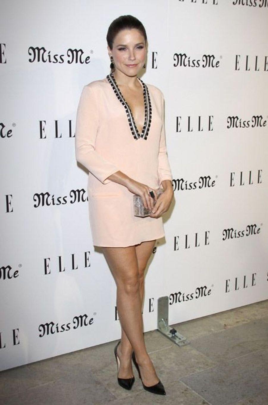 """Girly pour la soirée """"The Songbird Party by Elle Magazine"""" à Los Angeles, en août 2012"""