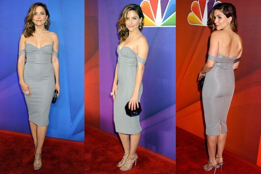 Intemporelle en mai 2014 à New York pour une soirée organisée par la chaîne NBC