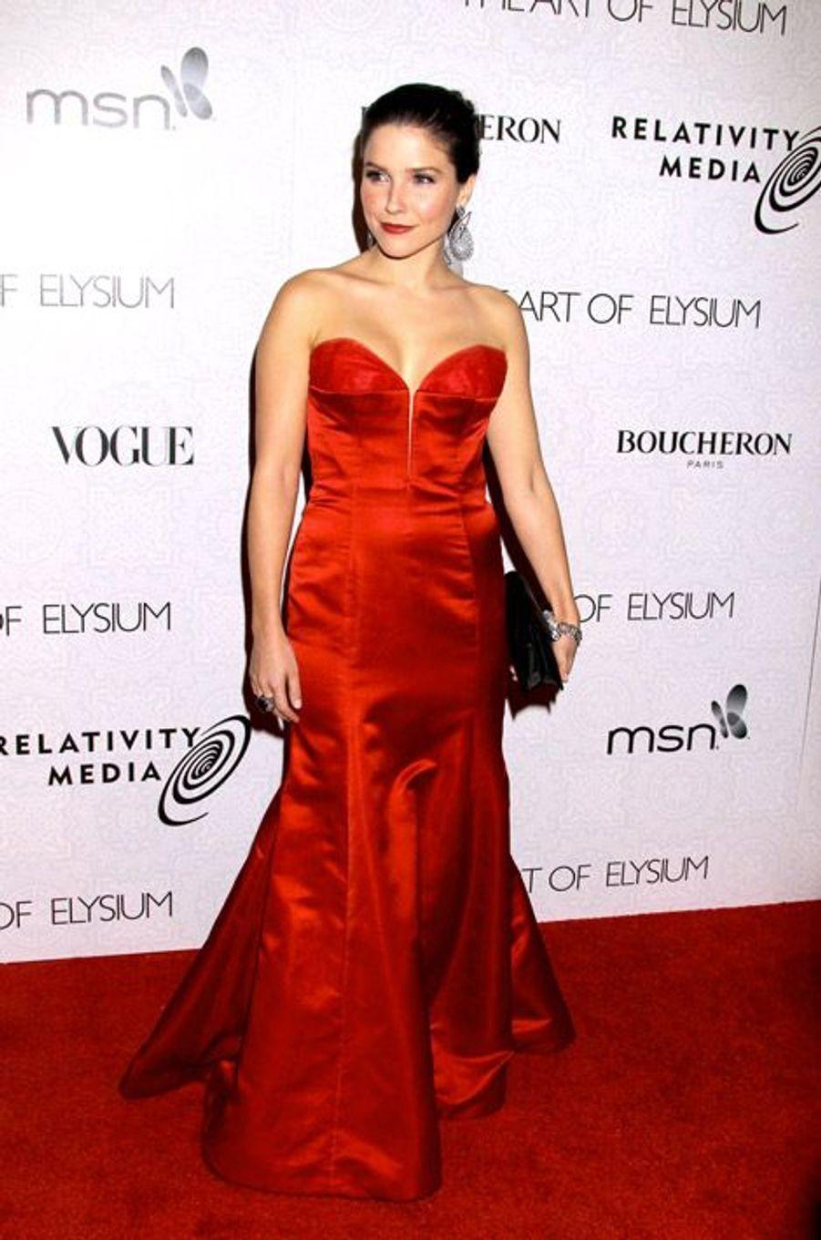 La tentation glamour, en 2010 lors du gala de charité Art of Elysium à Los Angeles