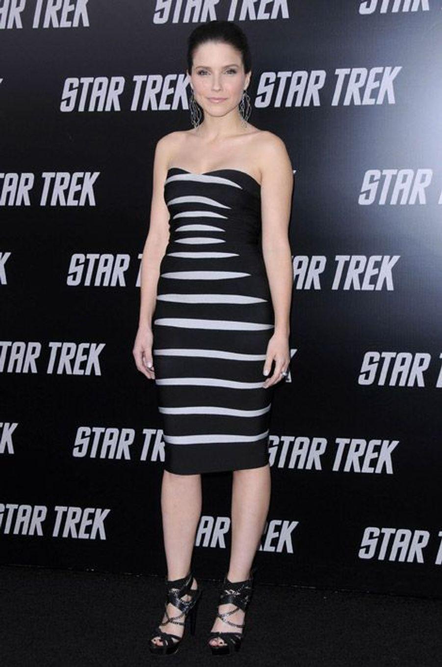 Le tournant sexy, pour la première de Star Trek à Los Angeles en 2009